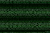 Binary Computer Code Background