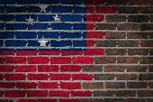 Dark Brick Wall - Samoa