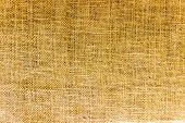 Jute burlap texture pattern / design background