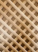 pic of pergola  - Wooden checked pattern the part of the pergola - JPG