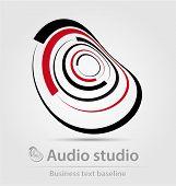 Audio Studio Business Icon