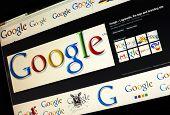Belgrade - Januar 29, 2014: Google Image Search For Google Logo Photos On Pc Screen