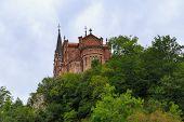 Covadonga - Asturias Spain, Basilica Of Santa Maria, Covadonga, Asturias, Spain