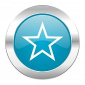 star internet blue icon