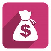 money flat icon