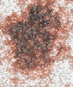 Abstract Triangular Background In Pink, Brown And Grey