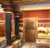 King's Chamber Of Knossos
