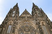 Saint Vit Cathedral In Prague