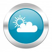cloud internet blue icon