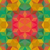 Vector Abstract Mosaic Pattern