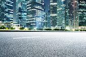 prosperous modern cityscape at night
