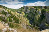 View from Cheddar Gorge, Somerset, United Kingdom
