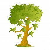 One Cartoon Tree