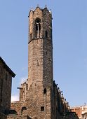 Bell Tower Of Royal Chapel Of St. Agatha, Barcelona