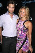 LOS ANGELES - SEP 14:  Drew Seeley, Amy Paffrath at the Genlux Rodeo Drive Festival of Watches and Jewelry at Rodeo Drive on September 14, 2014 in Beverly Hills, CA