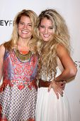 LOS ANGELES - SEP 15:  Lisa Whelchel, Clancy Cauble at the PaleyFest 2014 Fall -