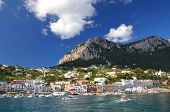 Picturesque Marina Grande on Capri island, Italy
