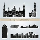 Zaragoza Landmarks And Monuments