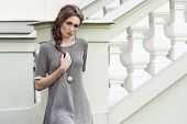 Charming Elegant Fashion Female