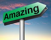 picture of you are awesome  - awesome  or wow sign excellent and super mind blowing product - JPG
