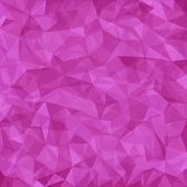 Pink abstract vector mosaic pattern. Vector abstract background