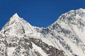 Snowy Mountain Peak - Beauty Of Nature