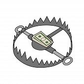 bear trap for businessman