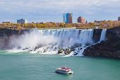 Hornblower Boat And American Falls