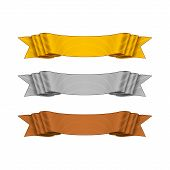 Vector Shaded Ribbons for your Design Project.