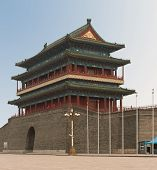 Main Gate Into Ancient Beijing