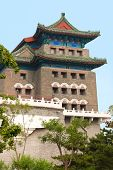 Arrow Tower Just South Of The Main Gate Into Ancient Beijing