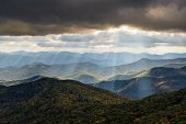 Appalachian Mountain Landscape Western North Carolina Blue Ridge Parkway