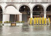 High Water In Saint Mark's Square, Venice