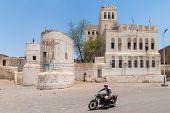 Man With Motorbike In Yemen
