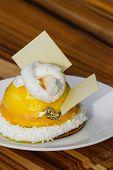 Passion Fuit Dessert