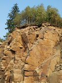 large stone quarry, South Bohemia