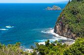 The coast of North Kohala, Hawaii