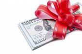 Money gift.