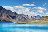 Mountains,pangong Tso (lake),leh Ladakh,jammu And Kashmir,india