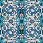Fantasy seamless pattern.