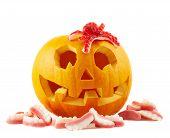 Jack-o'-lanterns pumpkin isolated