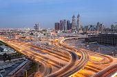 Dubai Internet Cty At Night