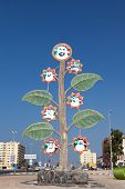Tree With Portraits Of The Sheikhs