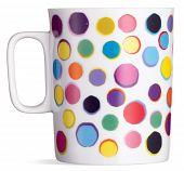 Fun Spotty Coffee Tea Mug On A White Background