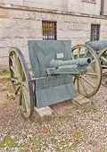French 75 Mm Field Gun Model 1912