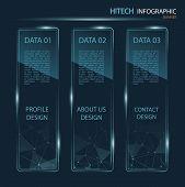 Hi-tech Banner Infographic