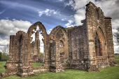 foto of divine  - HDR shot of the South West side of Lincluden Collegiate Church  - JPG