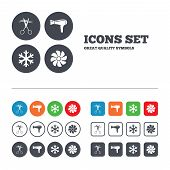 picture of ventilator  - Hotel services icons - JPG