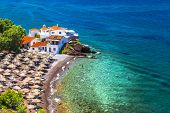 picture of hydra  - beautiful beaches of Greece - JPG