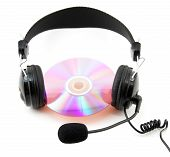 Headphone And Compact Disk
